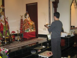 Final puja
