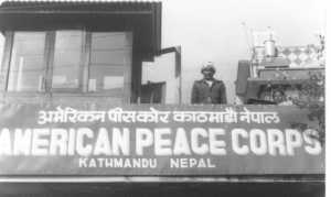 """Old school"" picture of the Kathmandu Peace Corps office that I found online"
