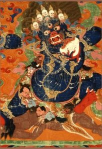 A Tibetan dipection of Yama