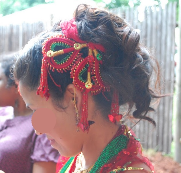 Nepali wedding in new england musings from an american nepali so congratulations junglespirit Image collections