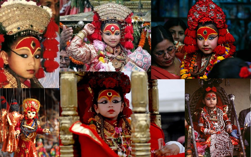 Kumari, the living goddess of Nepal