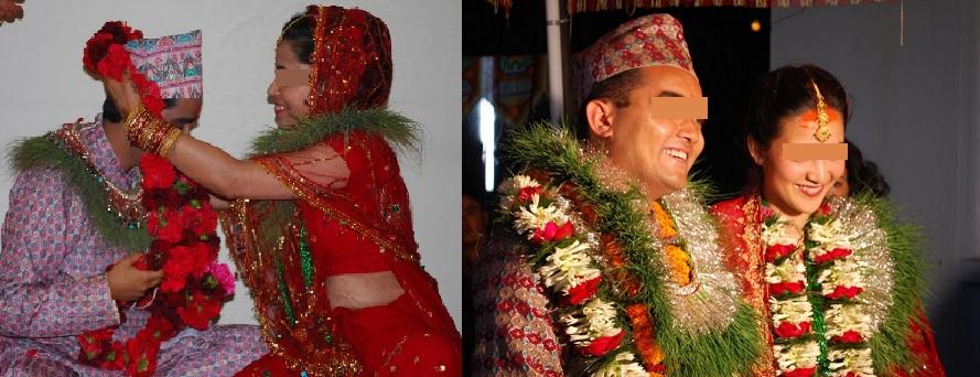 Weekend wedding post v nepali wedding paraphernalia for Wedding dress nepali culture